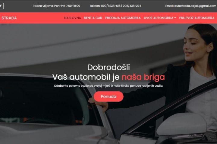 Prodaja Rabljenih Automobila u Osijeku - Auto kuća Strada https://strada-automobili.hr/
